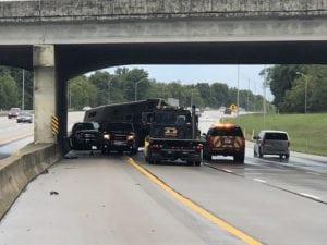 LEX18TrafficTracker: Horse Injured In Trailer Crash On I-75 North Of