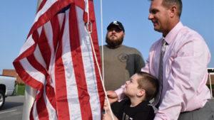 flag-kid