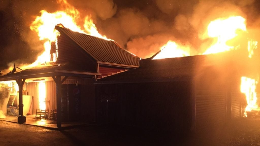 Police: Mercer Co  Grocery Fire Intentionally Set