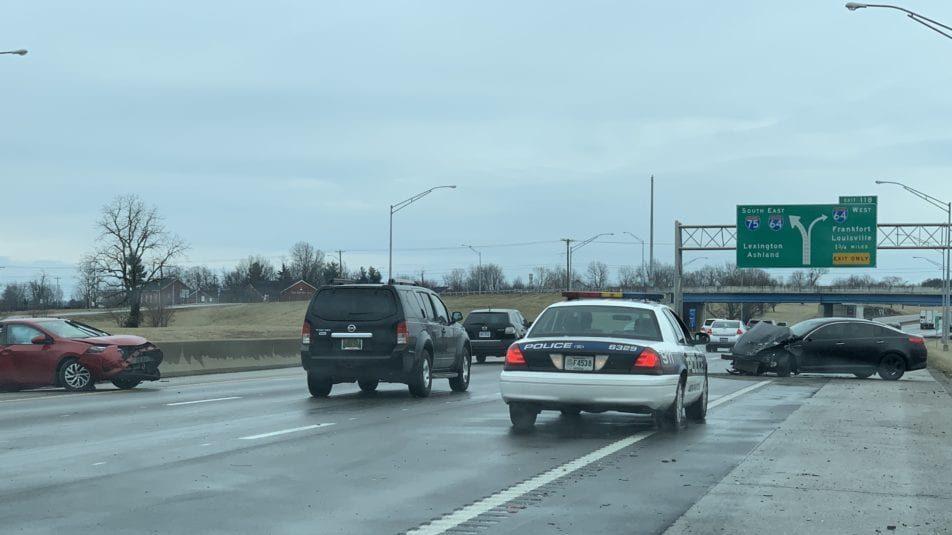 LEX 18 Traffic Tracker: Multiple Crashes Snarl I-75 Traffic Near