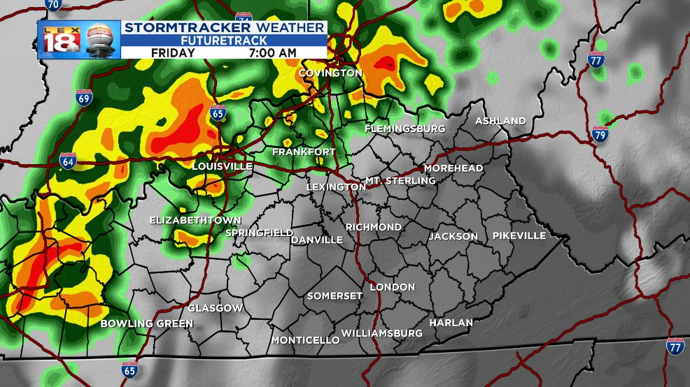 Forecast for the 145th Kentucky Oaks