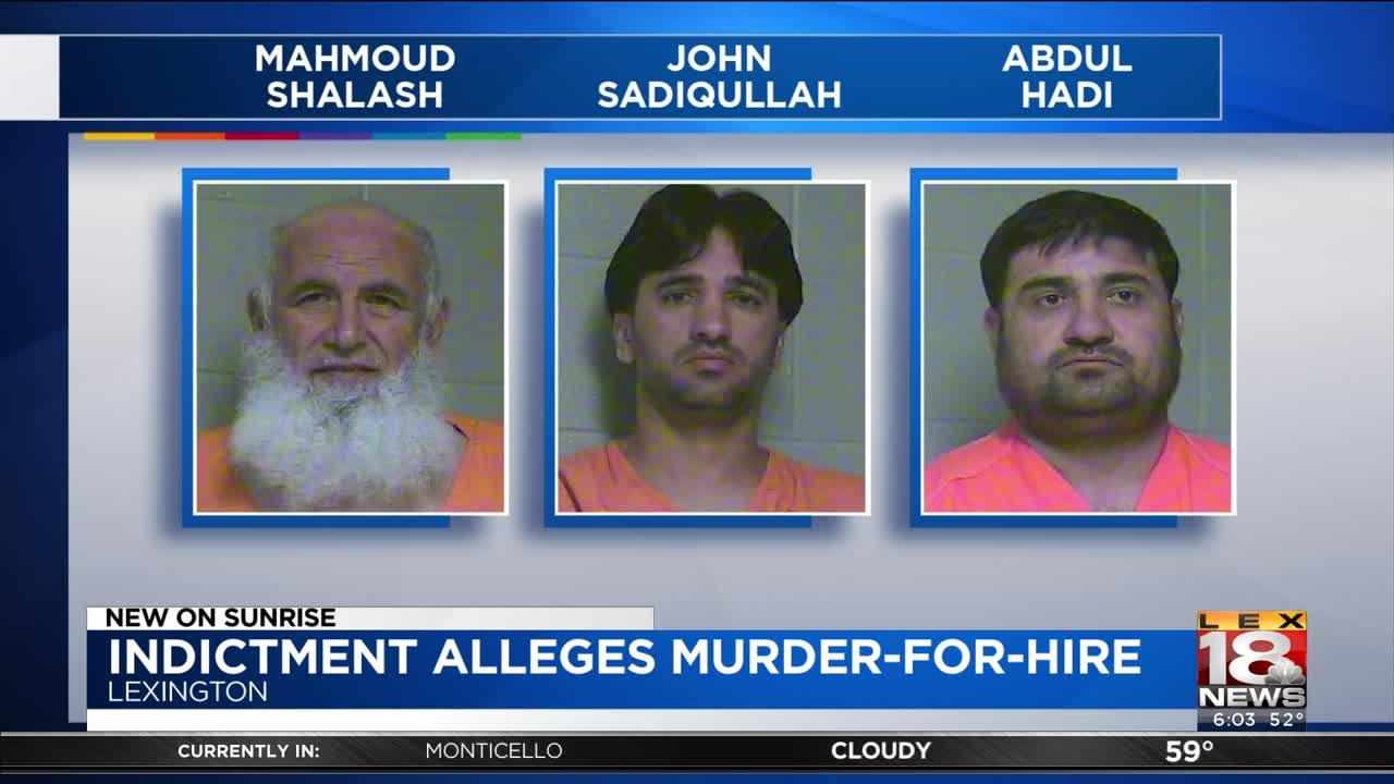 Lexington Imam, 2 Others Charged In Alleged Murder-For-Hire Plot