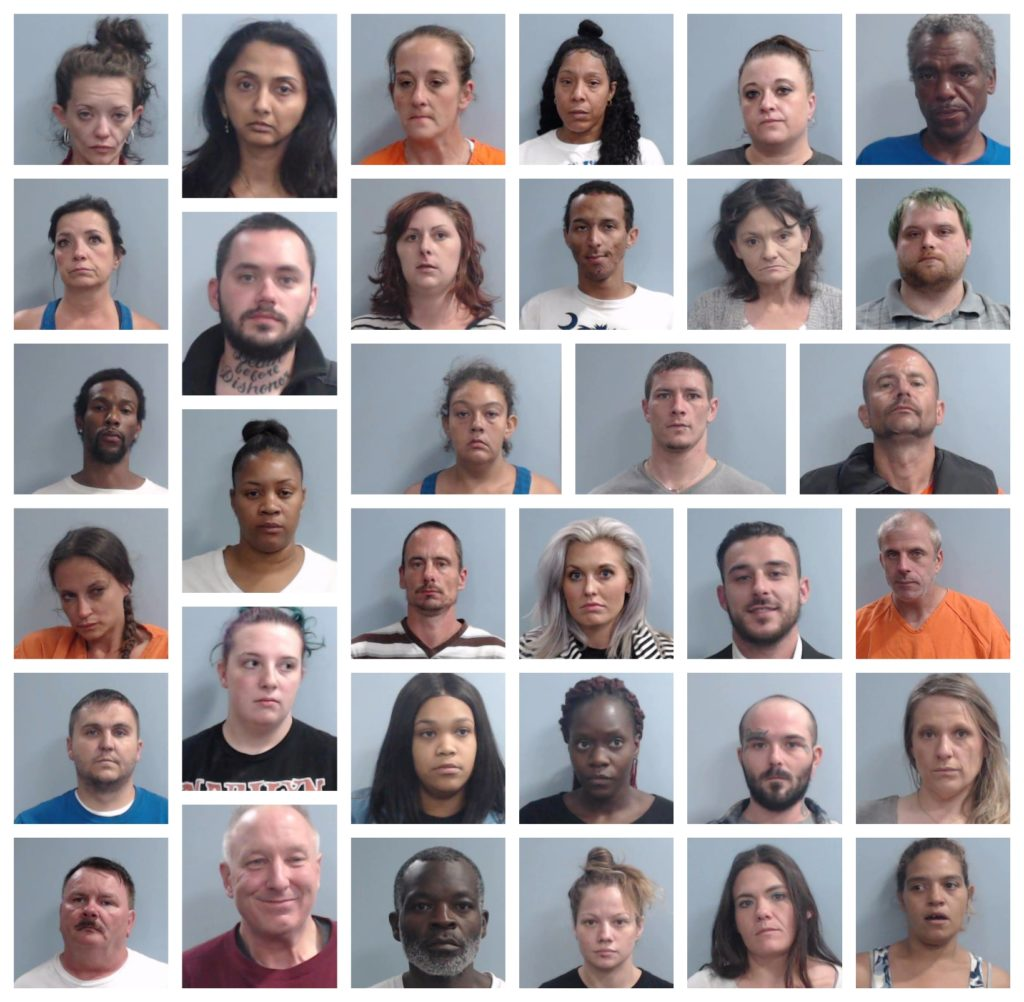 Lexington Police Arrest Dozens In 3-Day Shoplifting Sweep